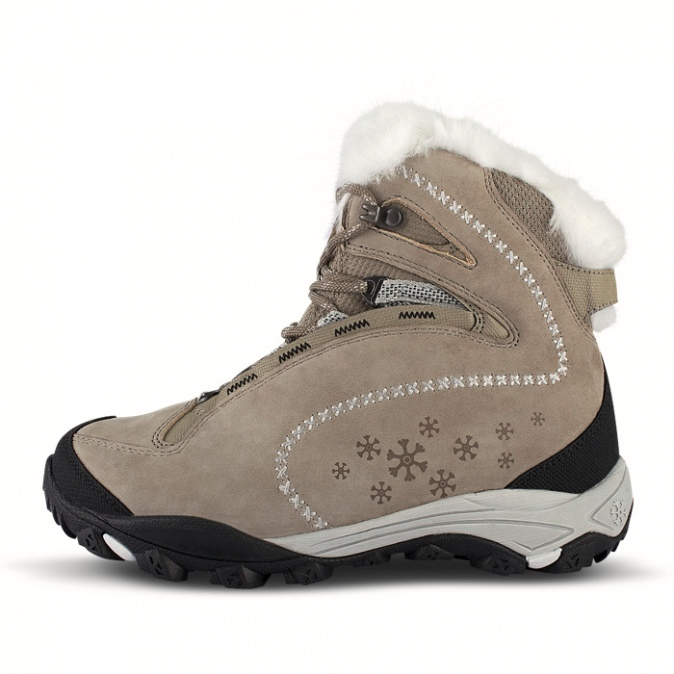 16343e15ceb Dámské zimní boty Nordblanc Snowflake béžové NBHC42