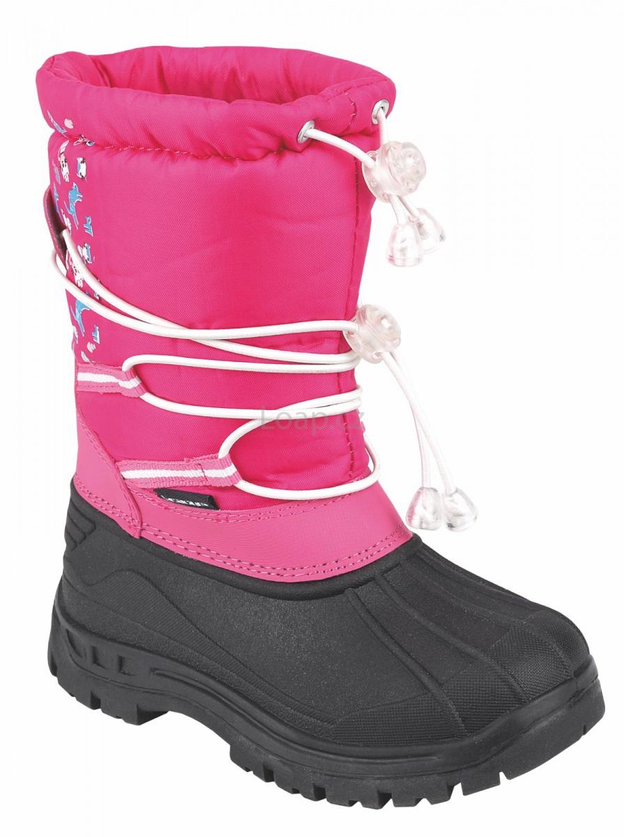 Dětské sněhule Loap ASTRAY růžová. akce 552328fd3c