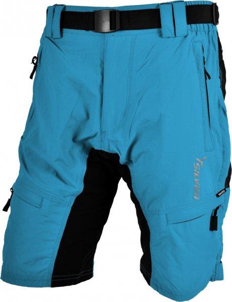 Silvini Cyklistické kalhoty MTB RANGO MP857 volné modré pánské cfb9897d49