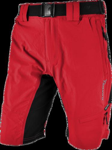 77a6fdcd7b0 Cyklistické kalhoty MTB Silvini RANGO MP857 bez cyklovložky červené pánské