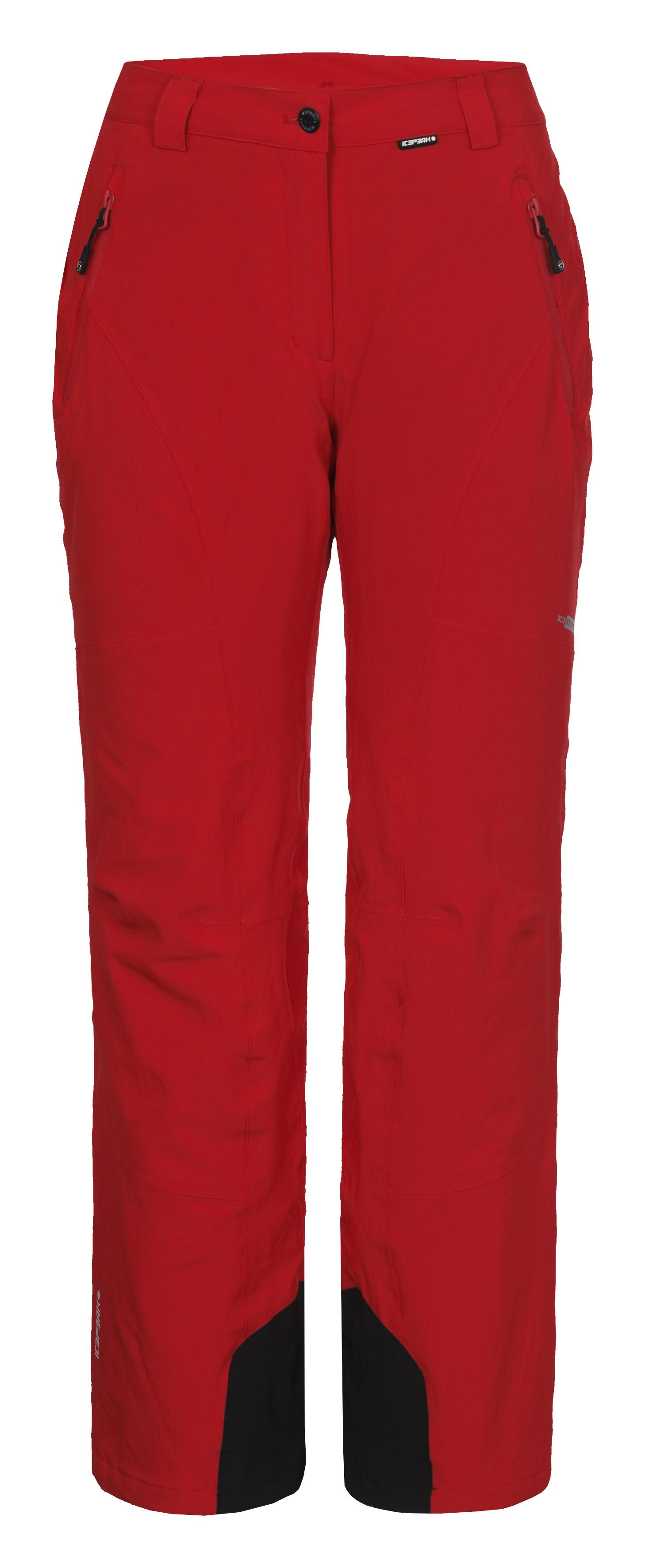 ac4c65e697c Dámské lyžařské kalhoty Icepeak Noelia červené 54011-646