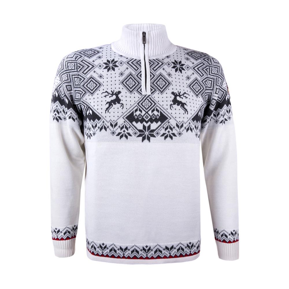 399a2eacd3a Pánský svetr Kama 4093 bílý 100 s norským vzorem