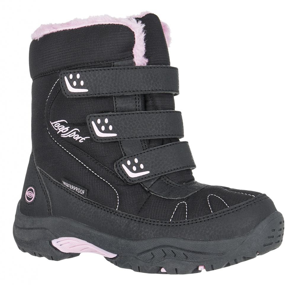 Dětské zimní boty Loap Desi Kid černá růžová KBJ1646V20J 936d6d4db5