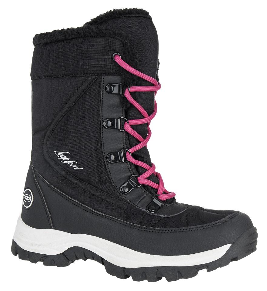 d118ae9a4e55 Dámské sněhule Loap Froze černá růžová
