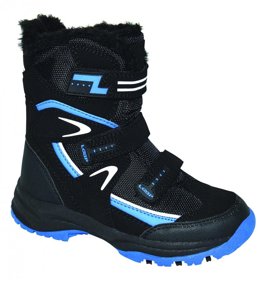 d4a7ec6df25 Dětské zimní boty Loap Nori černá modrá KBJ1653-V11L