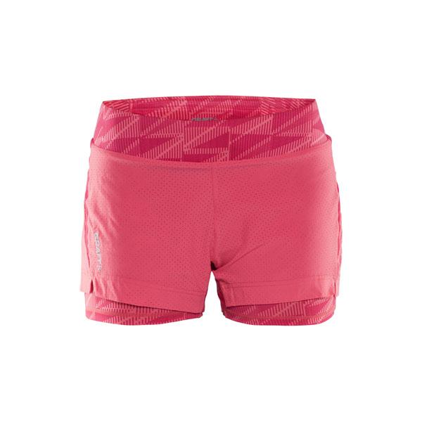 db609e3c0165 Dámské šortky CRAFT Breakaway 1904954-2456 růžová