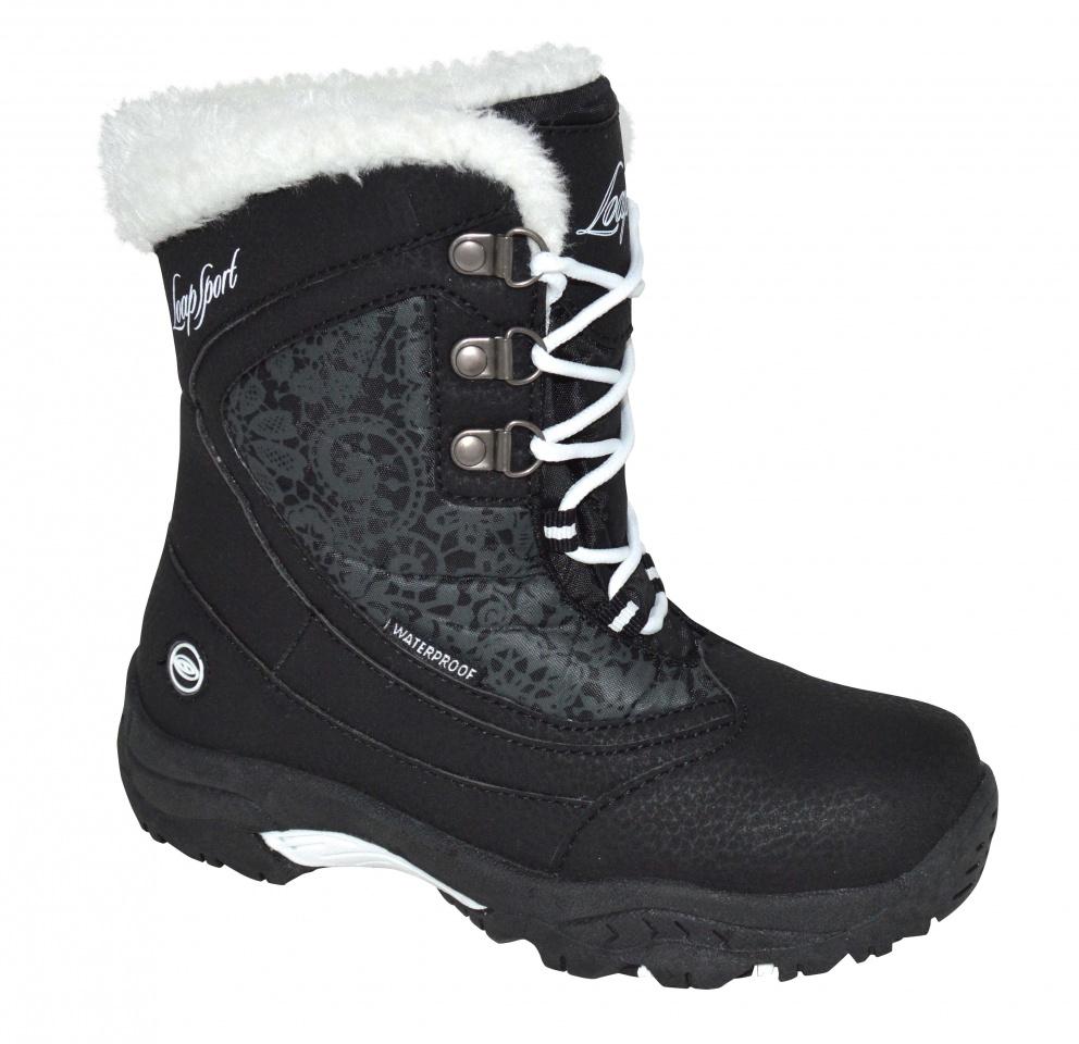 Dětské zimní boty Loap Spirit černé 070374fc47