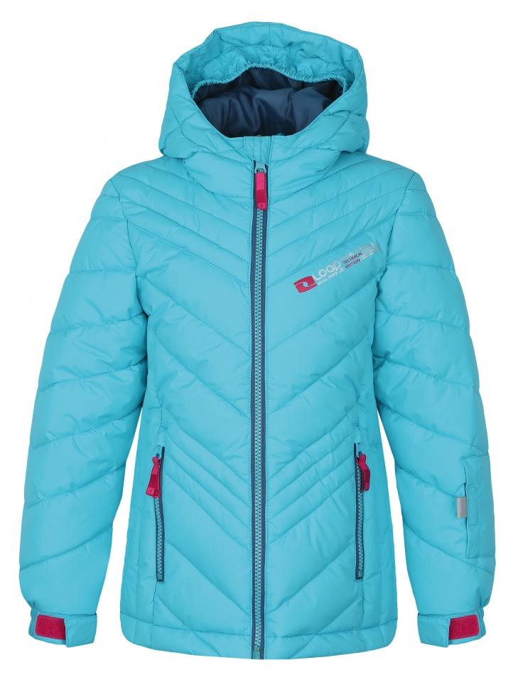 Dětská zimní bunda Loap Ogava modrá b9df007569