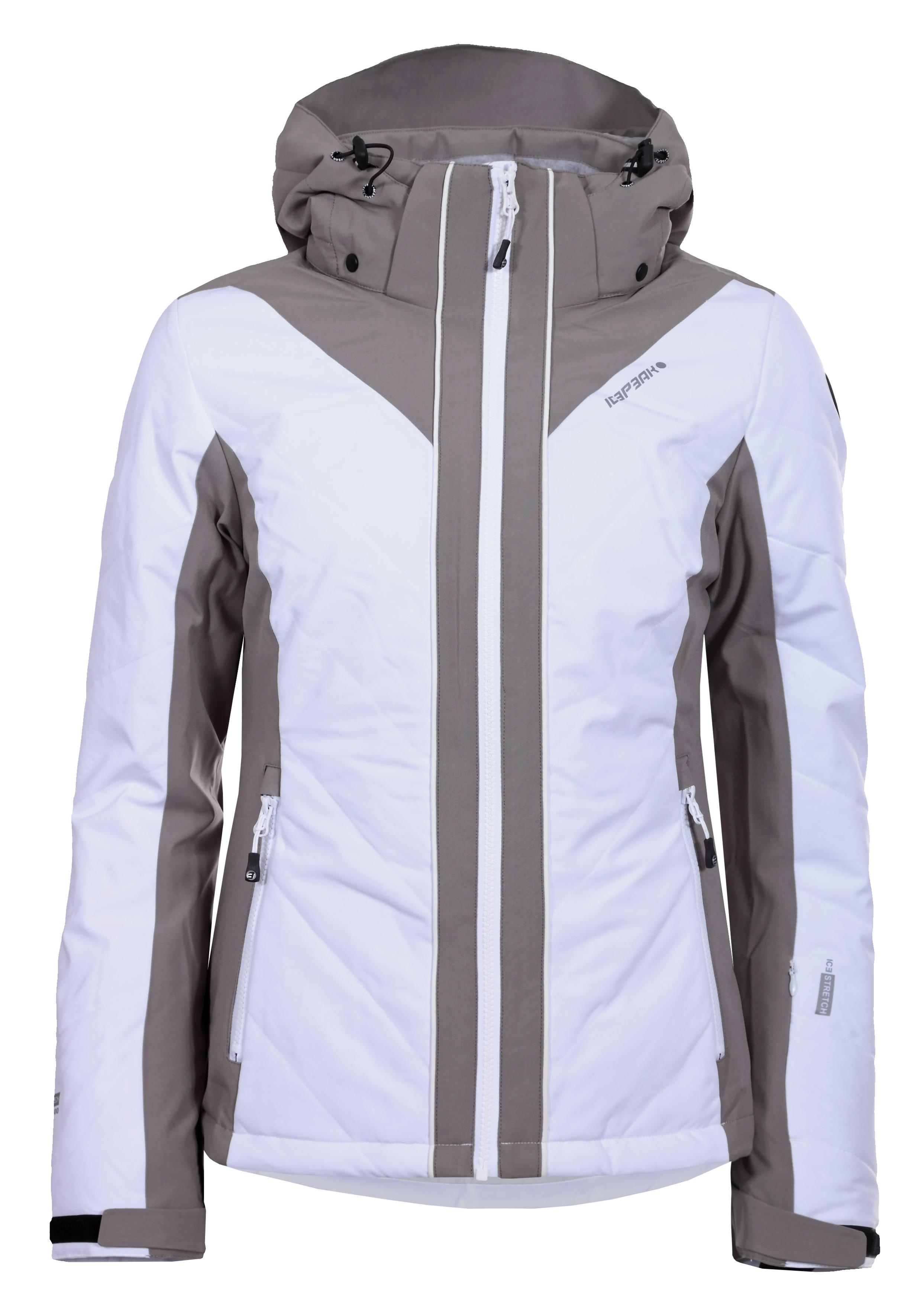 Dámská softshelová lyžařská bunda Icepeak Nanda bílá 53119-980 bdcb3532c5
