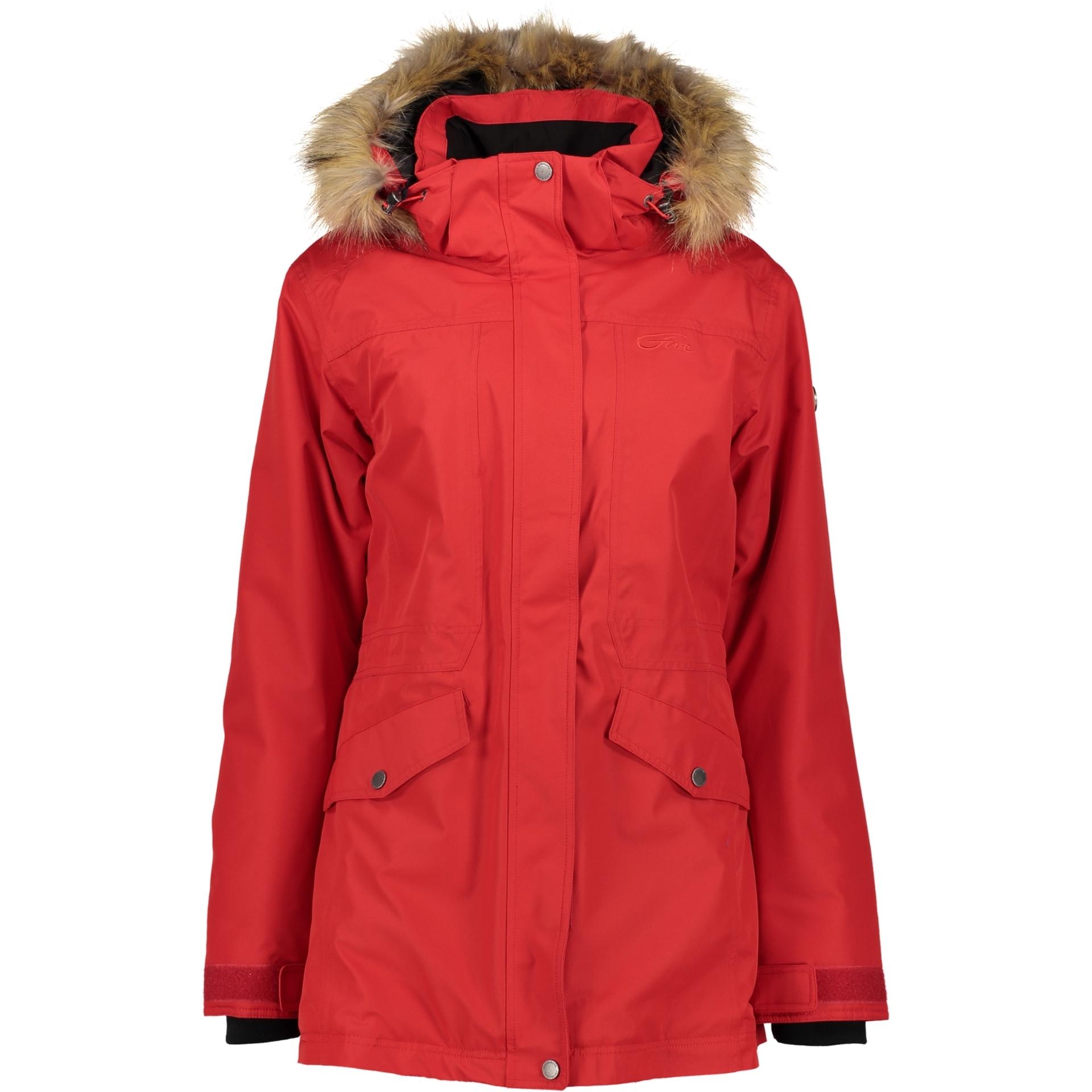 ab080c0ed4 Five Seasons Erina dámský zimní kabát červený