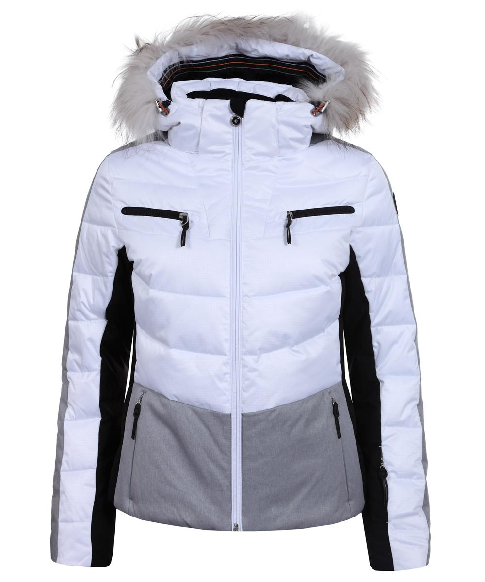 Dámská zimní bunda Icepeak Cathy IA s pravou kožešinou ...