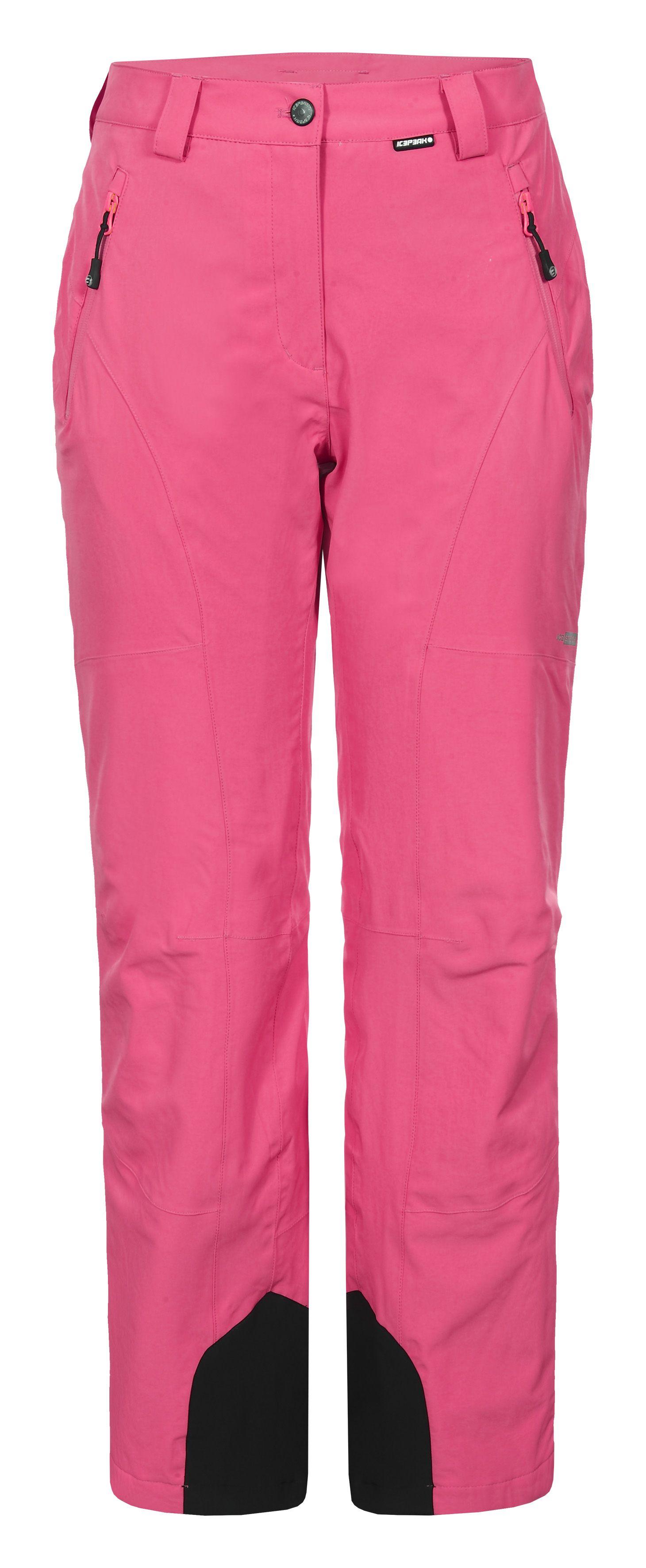 Icepeak Noelia 54011-535 neonově růžové dámské lyžařské kalhoty 12ac8bbe68