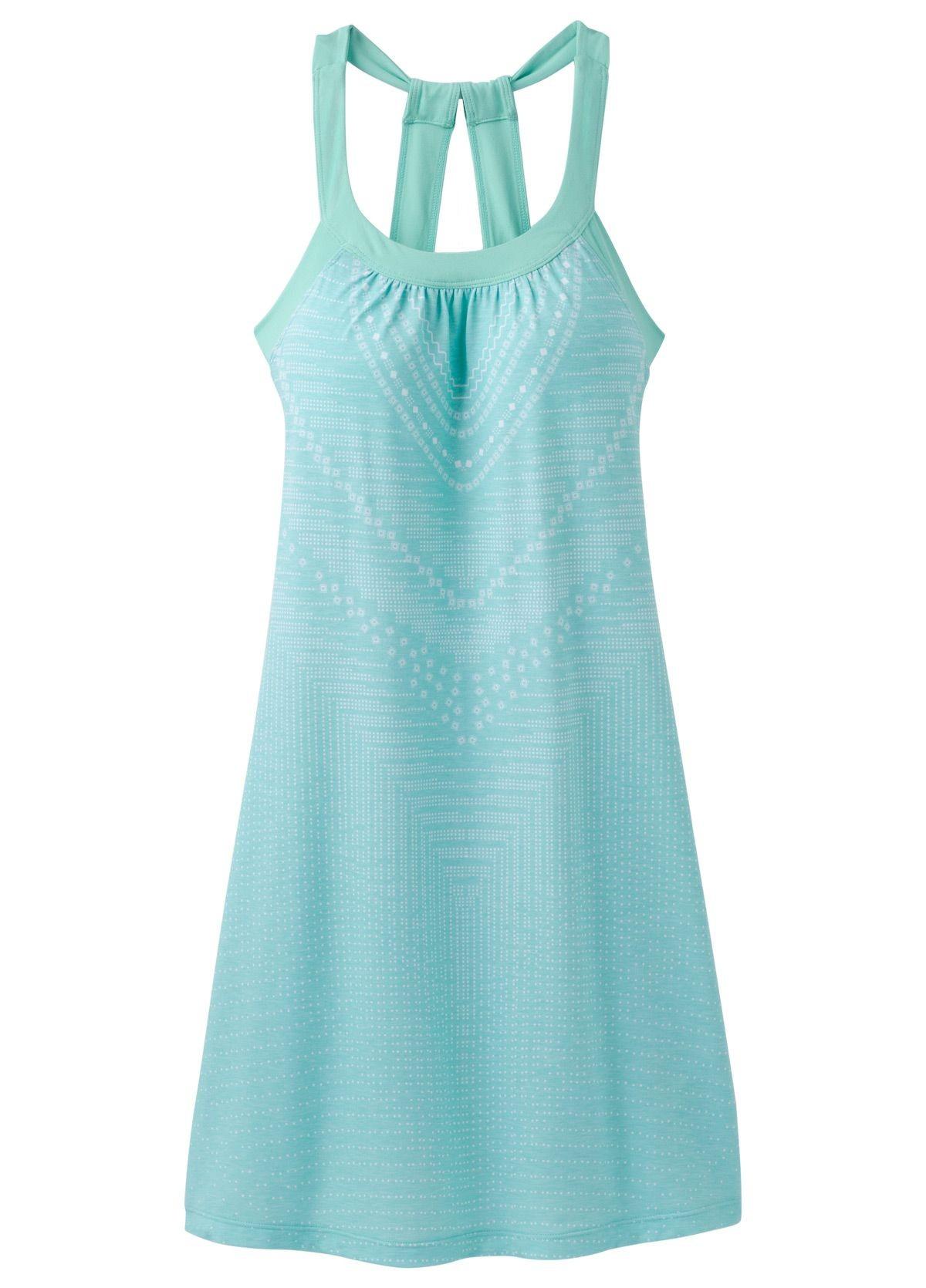 95fd05725b Dámské šaty PRANA Cantine Dress tyrkysová