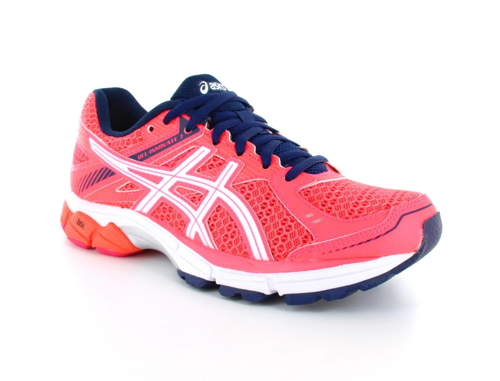 Dámské běžecké tenisky ASICS Gel Innovate 7 neonově růžové 3f0443d0a9