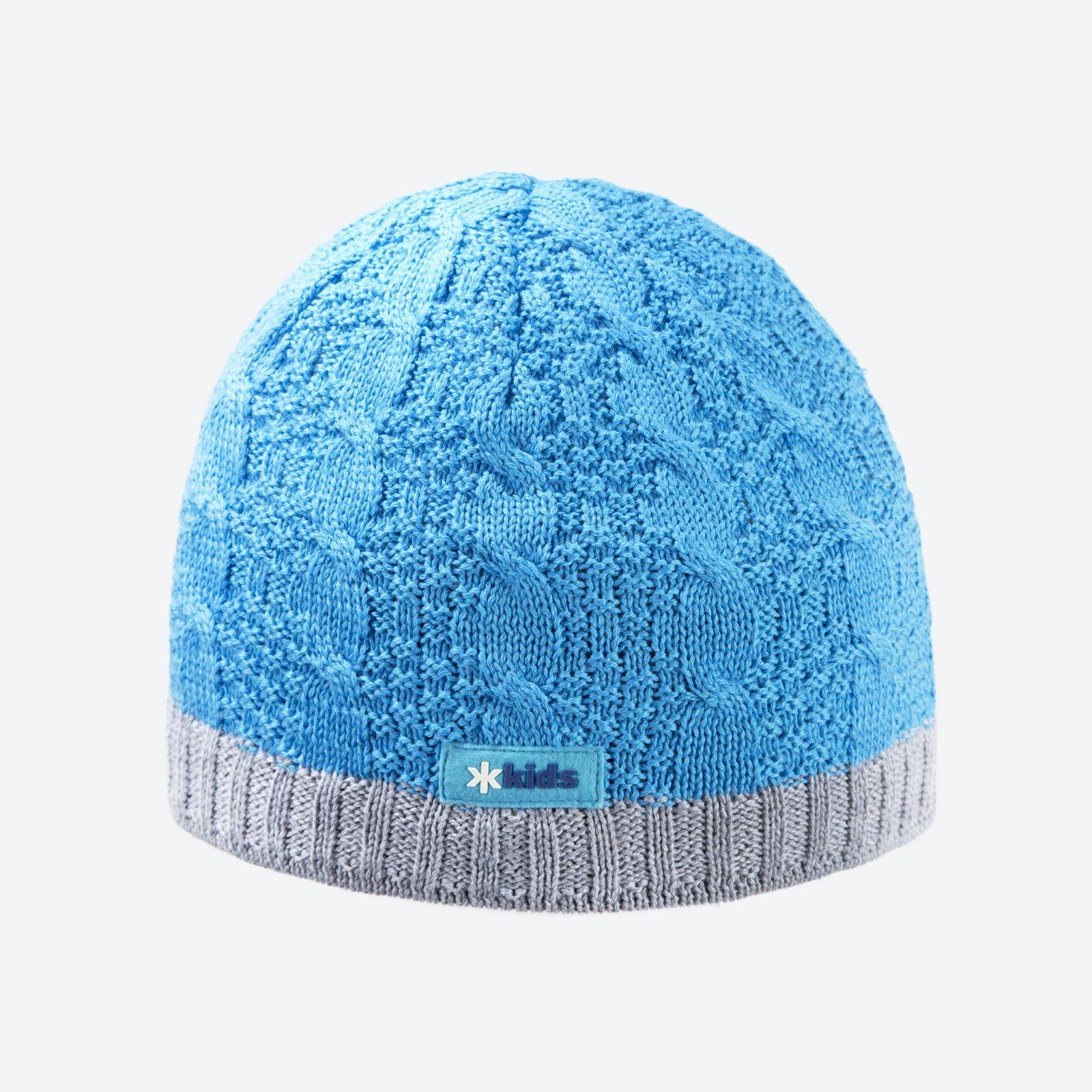 cb46e94ce74 Dětská pletená Merino čepice Kama B80 modrá