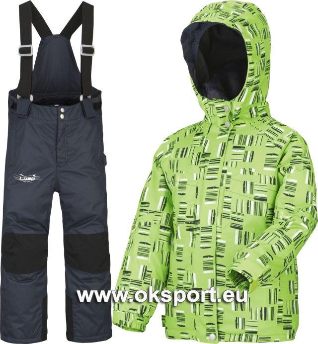 c8596807b Dětský zimní set Loap Aroten zelený AKCE