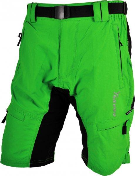 73a072afc13 Cyklistické kalhoty MTB Silvini RANGO MP857 bez cyklovložky zelené pánské