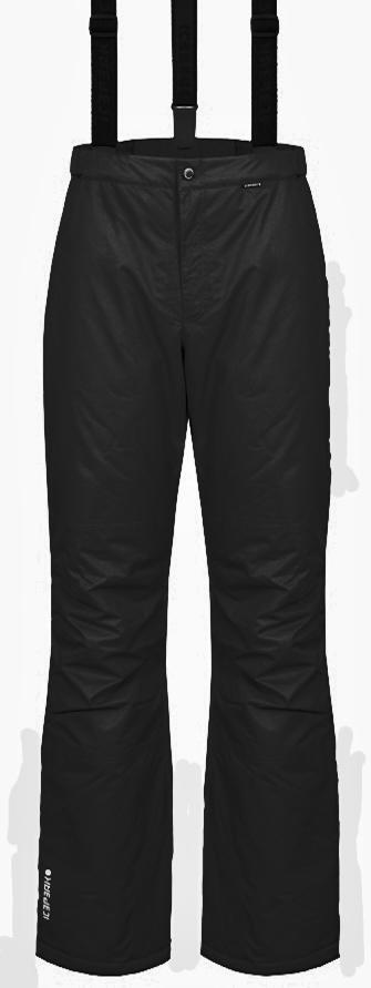 084307918972 Pánské lyžařské kalhoty Icepeak Travis černé empty