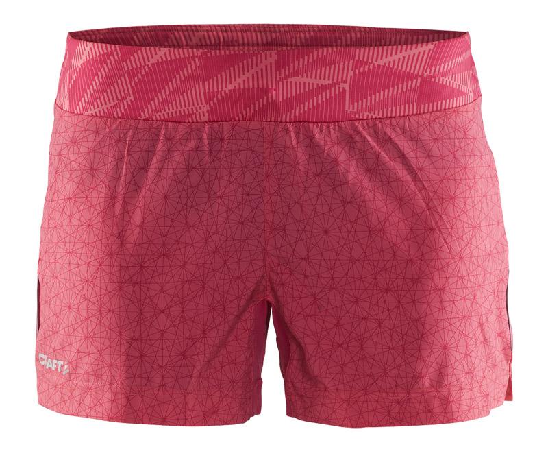 Dámské šortky CRAFT Mind 1903958-2070 růžové empty e049317b50