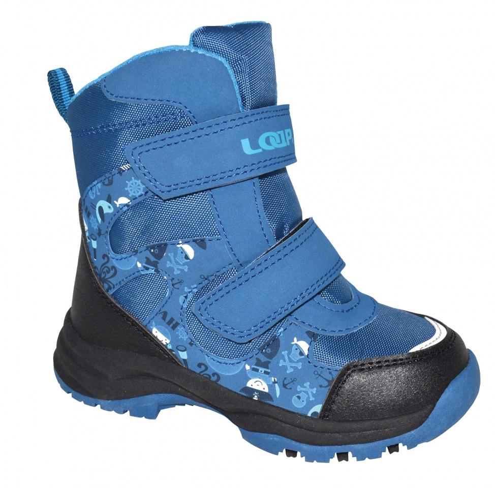 0f98bc61c51 Dětské zimní boty Loap Chosee modré