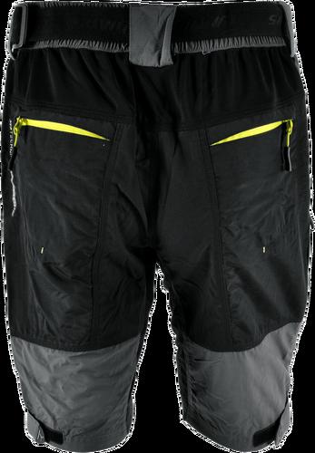 335a22b333b Silvini Cyklistické kalhoty MTB RANGO MP857 volné šedo zelené pánské