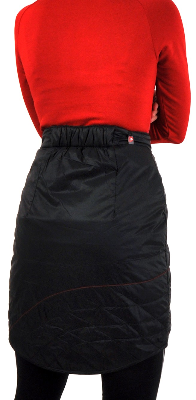 cc600d53cff Silvini Ballone WS1106 dámská převleková sukně black-red