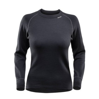 Termo triko Devold DUO ACTIVE Shirt Woman BLACK