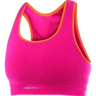 Sportovní podprsenka Craft Seamless růžová empty 3bf140658e