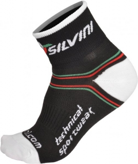 Cyklistické nízké ponožky Silvini Orato UA445 černé empty d0a88038b6