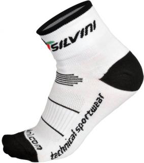 Cyklistické nízké ponožky Silvini Orato UA445 bílé empty 1c7a2babe0