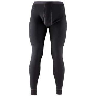 Pánské termo spodky Devold Expedition Man Long Johns W/Fly BLACK