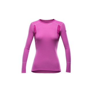Termo triko Devold Hiking Shirt Woman růžové