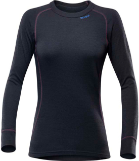 Dámské termo triko Devold DUO ACTIVE Woman Shirt BLACK