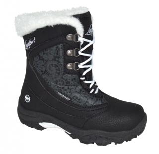 Dětské zimní boty Loap Spirit černé empty 26585ae8d1