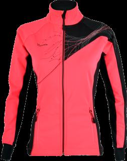 d86887ee25f Dámská softshellová bunda Silvini Monna WJ703 růžová černá empty